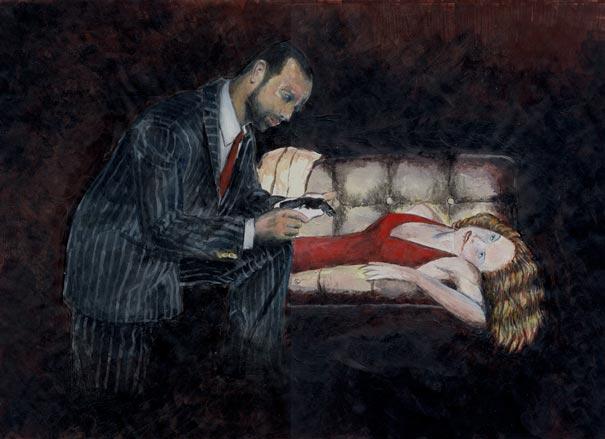 Douglas Gordon en la Fundació Miró (Barcelona)